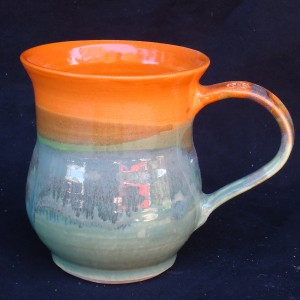 Orange and Purple Cup