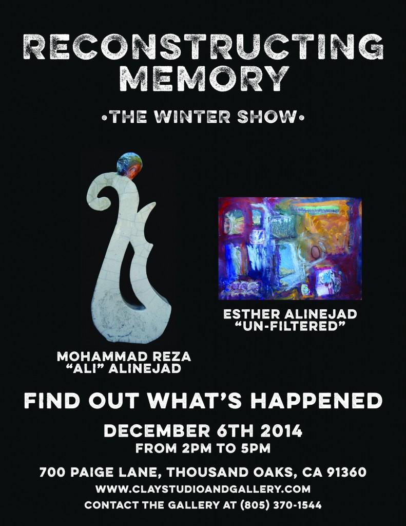 Reconstructing Memory - Winter Show 2014